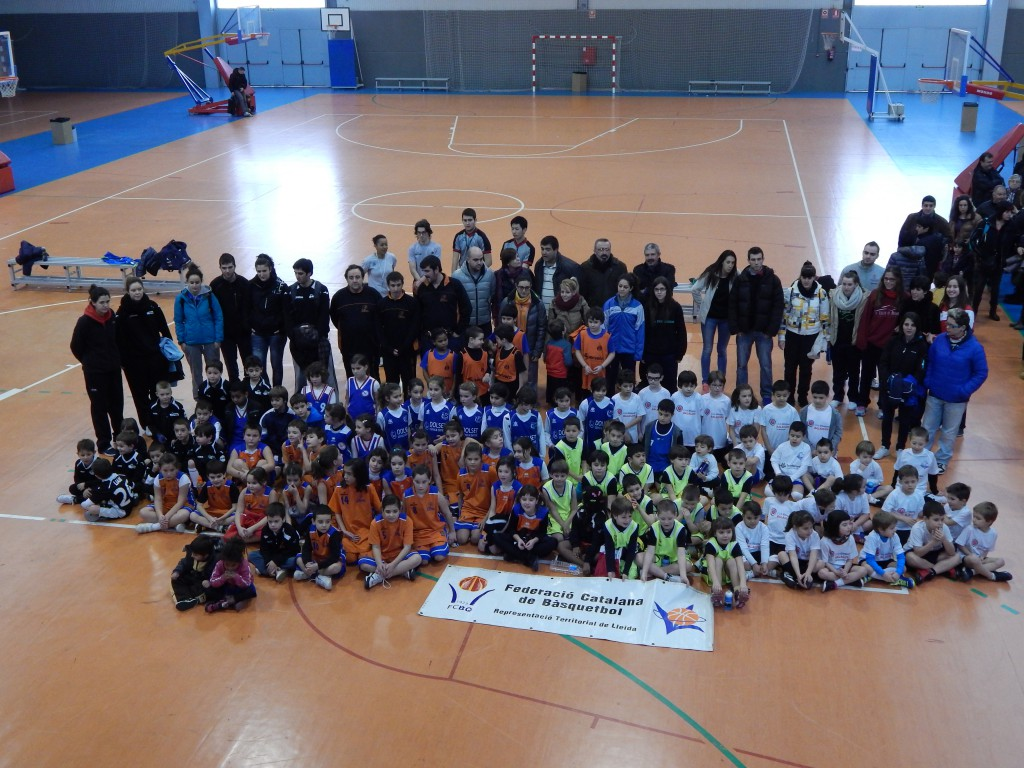 Trobada d'Escoles de Bàsquet a Balaguer (Aj. Balaguer)