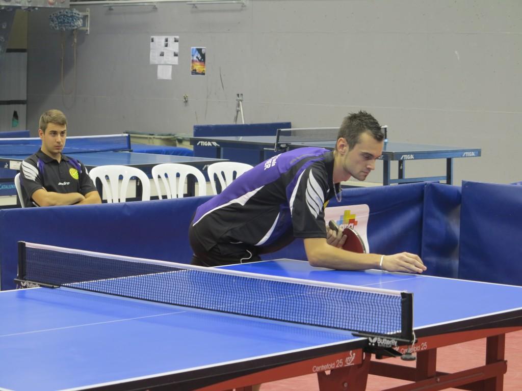 Jerome, jugador del CTT Balaguer (Rosa Ma Sauret)
