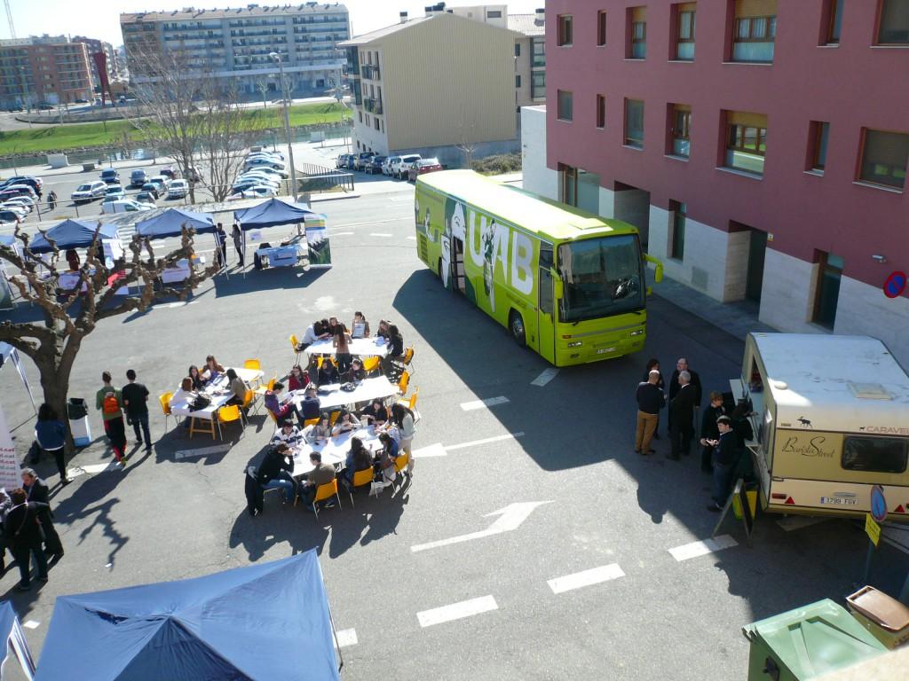 Edició 2013 de la Fira Universitària de la Noguera (Foto: Consell Comarcal Noguera)