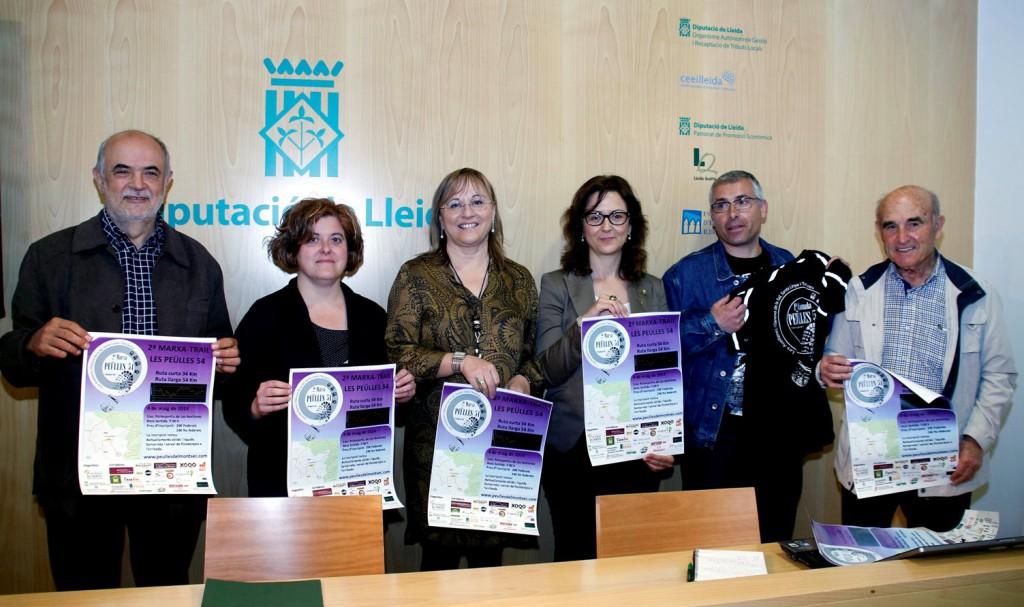 Presentació de la marxa a la Diputació de Lleida