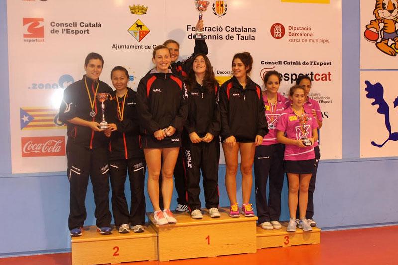 Fotografia de les guanyadores (Foto: CTT Balaguer)