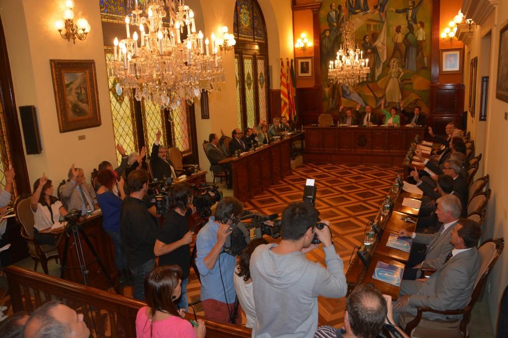 Ple Dipuació de Lleida (Foto: Diputació de Lledia)