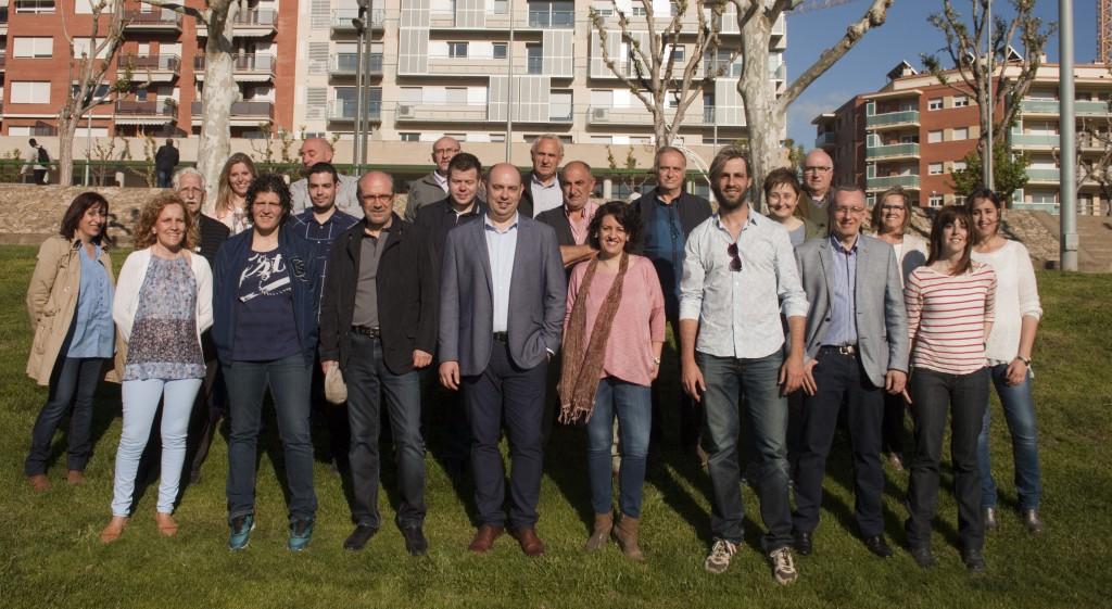Presentació llista Esquerra per Balaguer (Autor: ERC Balaguer)