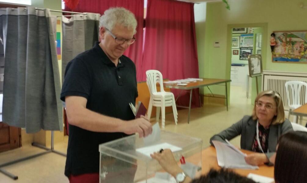 Carlos García, candidat per PSC a Balaguer (Autor: M. Àngel Daviu)