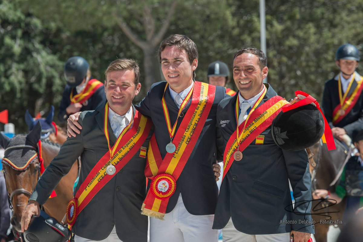Albert Hermoso Bronze Campionat Espanya CCE