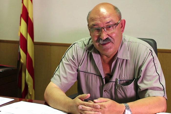 Mingo Sabanés, alcalde d'Artesa de Segre, deixarà el carrec el gener vinent