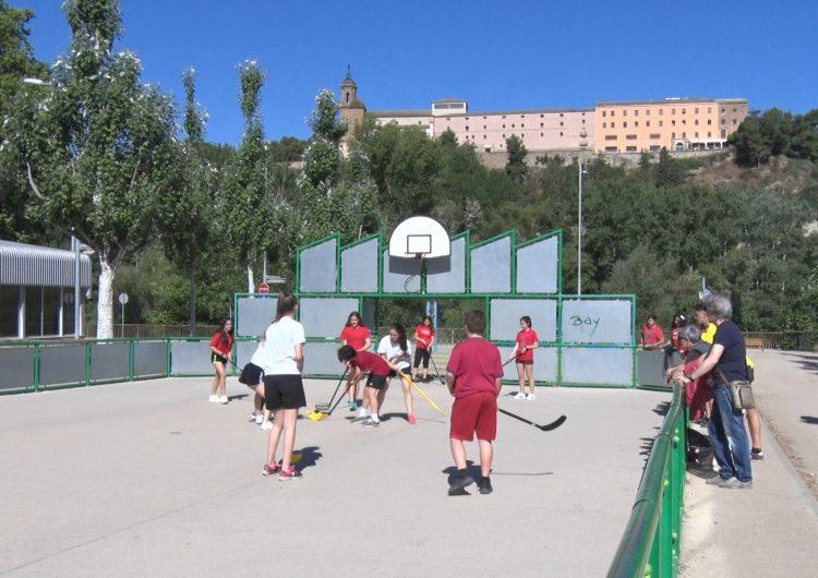 Centenars de joves participen a la 16a Diada Olímpica a Balaguer
