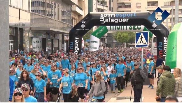 """La festa solidària """"Posa't la gorra Balaguer"""" recapta més de 90.000 euros"""