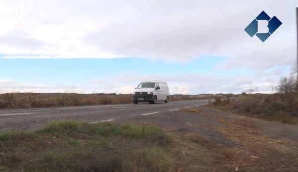 Comencen les obres d'arranjament de la carretera que connecta Térmens i Bellvís