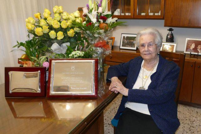 Bellcaire d'Urgell commemora el centenari de la seva veïna Eduvigis Llop