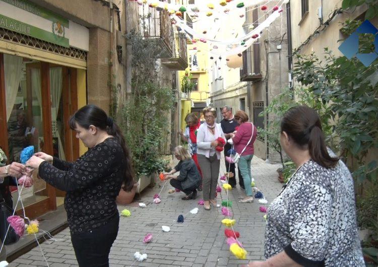 Balaguer ja s'engalana per la 'Feria de Abril'