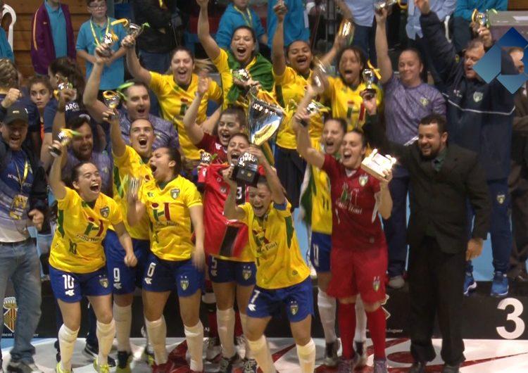 Brasil guanya el Mundial de futbol sala femení disputat a Balaguer