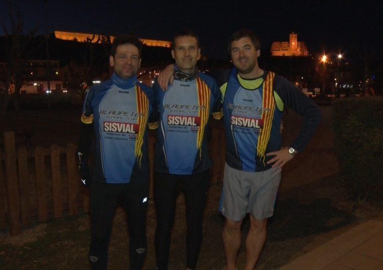 Blaupeten Running Team, un equip d'amics acostumat a pujar als podis de les curses de Ponent