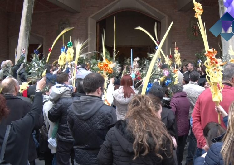 Els balaguerins celebren el Diumenge de Rams