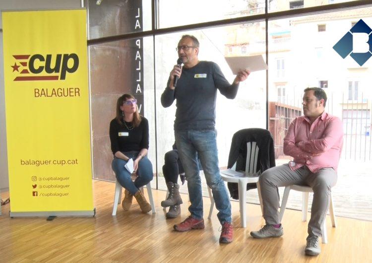 La CUP de Balaguer presenta Josep Maria Colea com a candidat a l'alcaldia