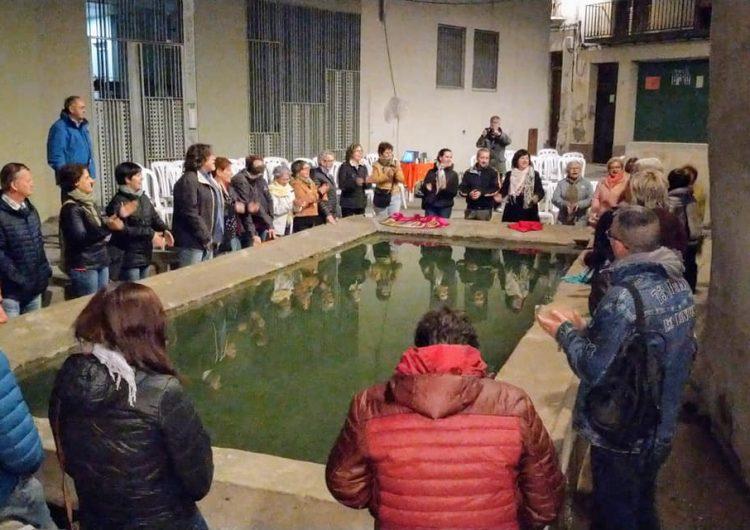 S'omple la Reguereta de Balaguer en el marc de la Nit dels Museus