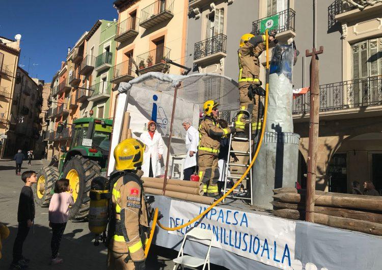 Inici accidentat de la festa dels Tres Tombs de Balaguer