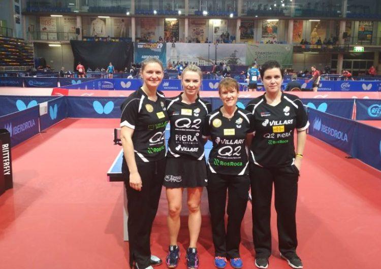 El Balaguer Villart Logístic obté una 5a posició a la Copa de la Reina de tennis taula