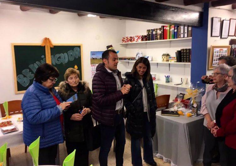 La consellera Meritxell Budó visita el municipi de Preixens