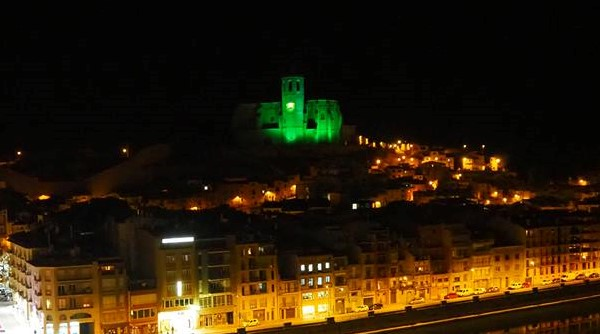 Balaguer es tenyeix de verd en el Dia Mundial del Càncer