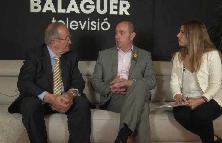 Fira Q 2019: Entrevista a Jordi Ignasi Vidal, alcalde de Balaguer i Josep Gonzàlez, president de PIMEC