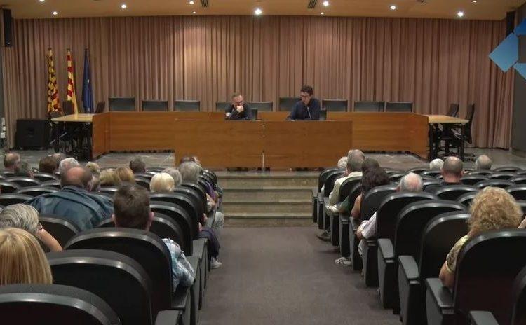Josep Costa obre el cicle de conferències organitzades per l'ANC de Balaguer