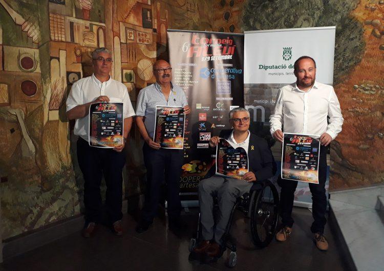 Artesa de Segre presenta el VI Torneig de Futbol Formatiu Aleví Copa Cooperativa d'Artesa de Segre