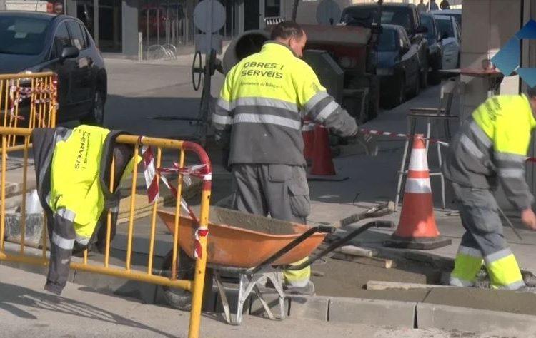 L'Ajuntament de Balaguer millora l'accessibilitat peatonal d'alguns punts de la ciutat