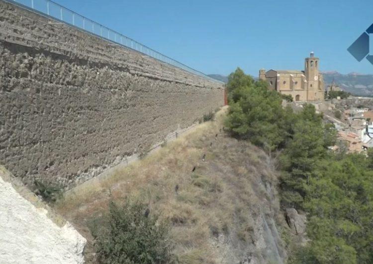 Les entitats sobiranistes de Balaguer preparen un acte reivindicatiu a la muralla