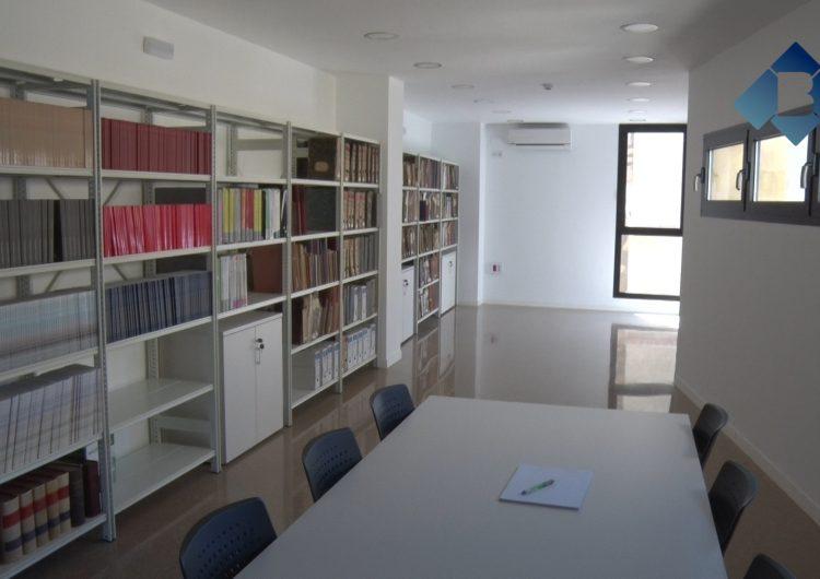 Menàrguens habilita una sala de l'ajuntament com arxiu municipal