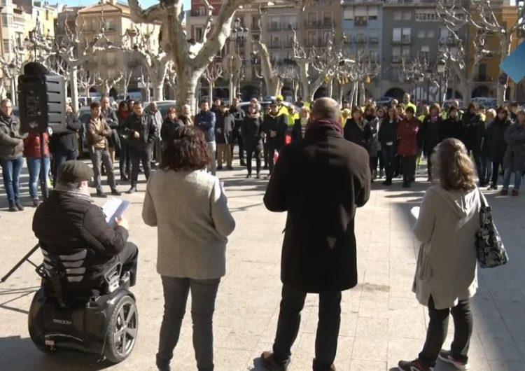 L'Ajuntament de Balaguer se suma a les aturades de suport als presos