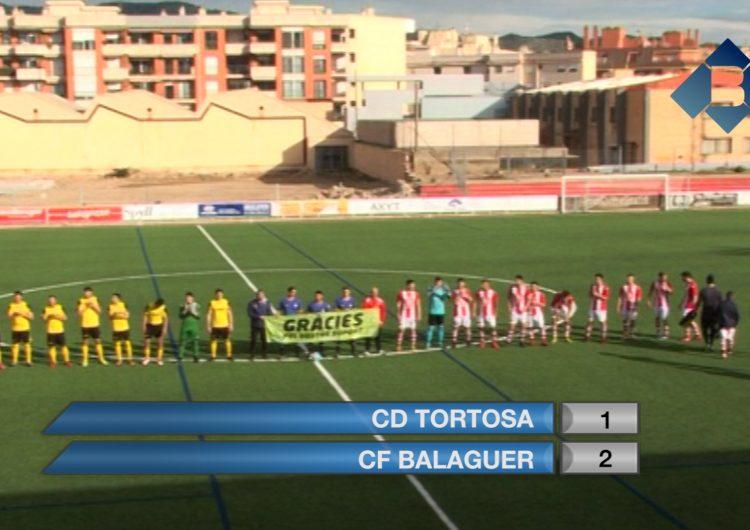 El CF Balaguer guanya per la mínima al Tortosa