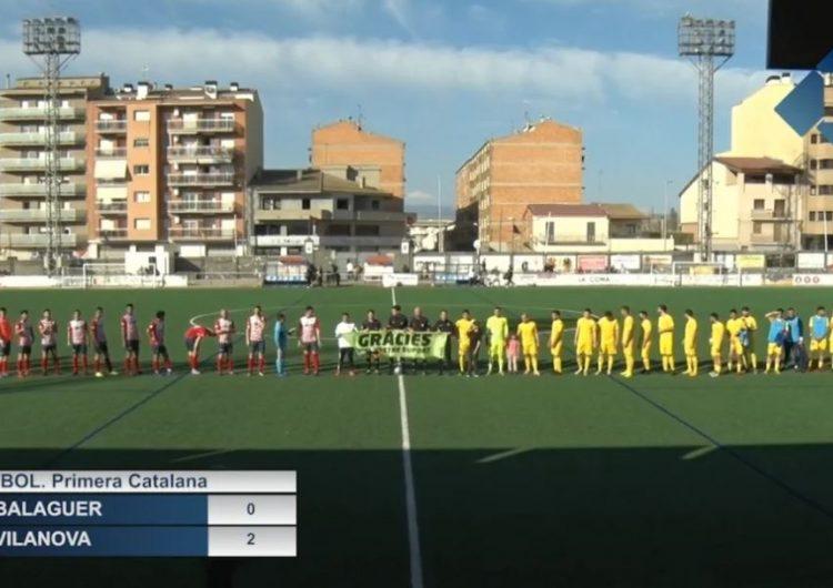 El CF Balaguer augmenta la seva ratxa de derrotes