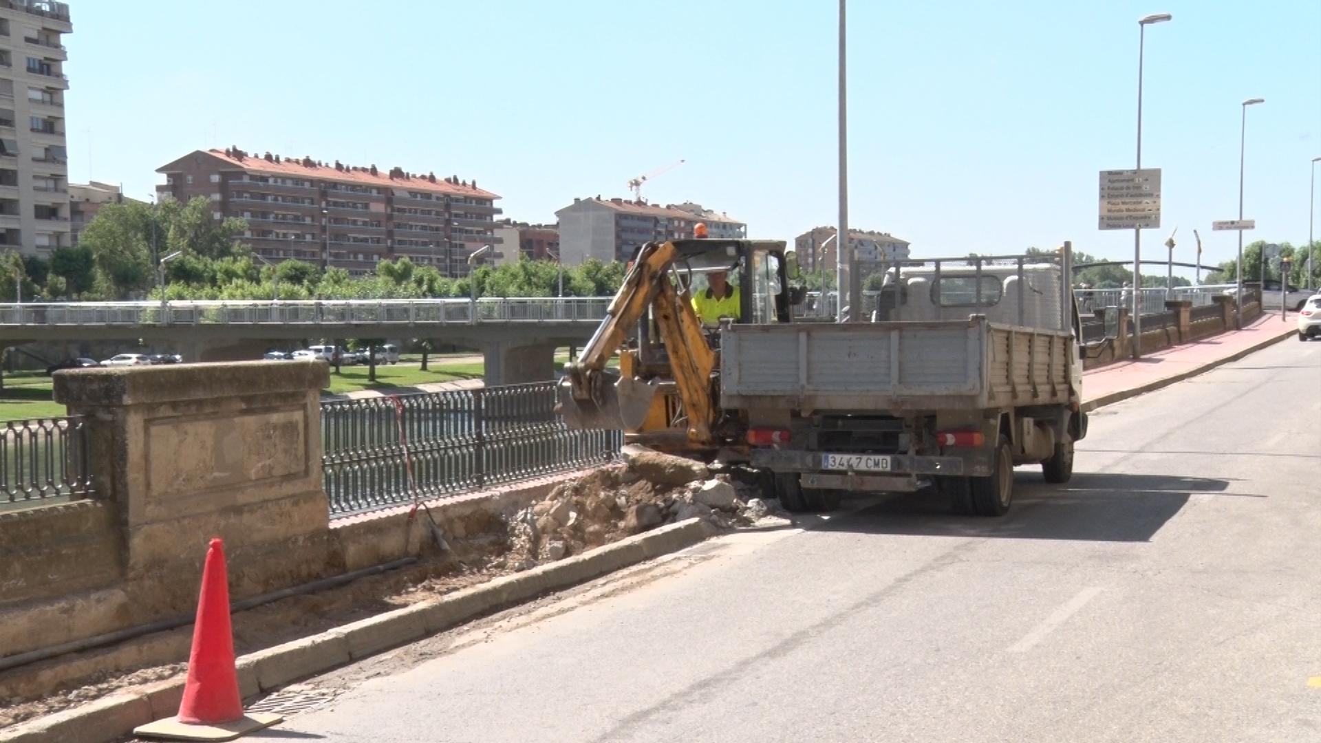 L'Ajuntament de Balaguer inicia les obres de millora al carrer la Banqueta per evitar inundacions