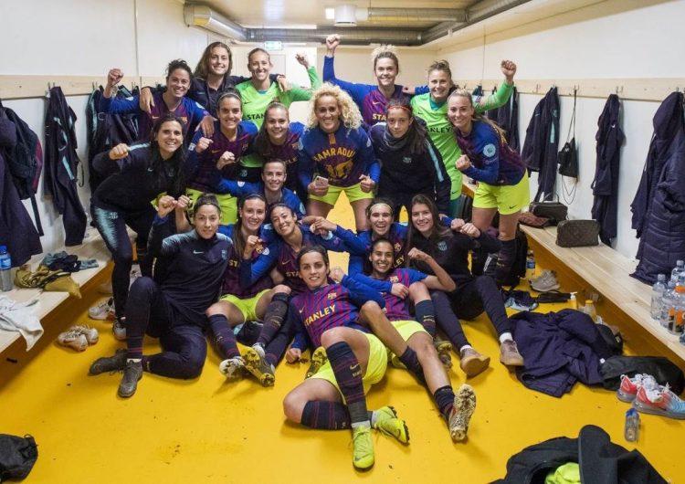 El Barça Femení entrenat per Lluís Cortés, classificat per les semifinals de la Lliga de Campions