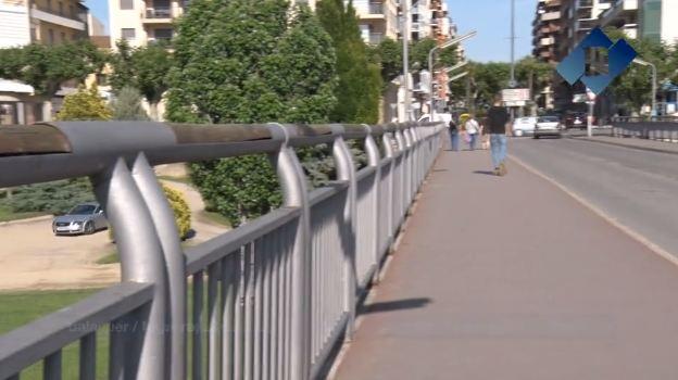 L'Ajuntament de Balaguer substituirà les baranes del Pont Nou