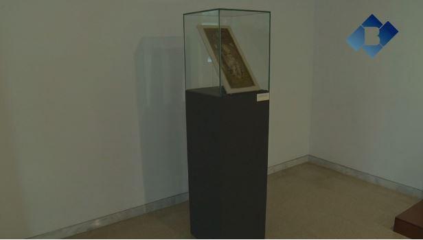 El Museu Comarcal de la Noguera mostra un brodat del s.XIV de la casa comtal d'Urgell