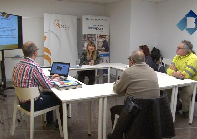 Comencen les càpsules formatives d'ASPID al CEI de Balaguer