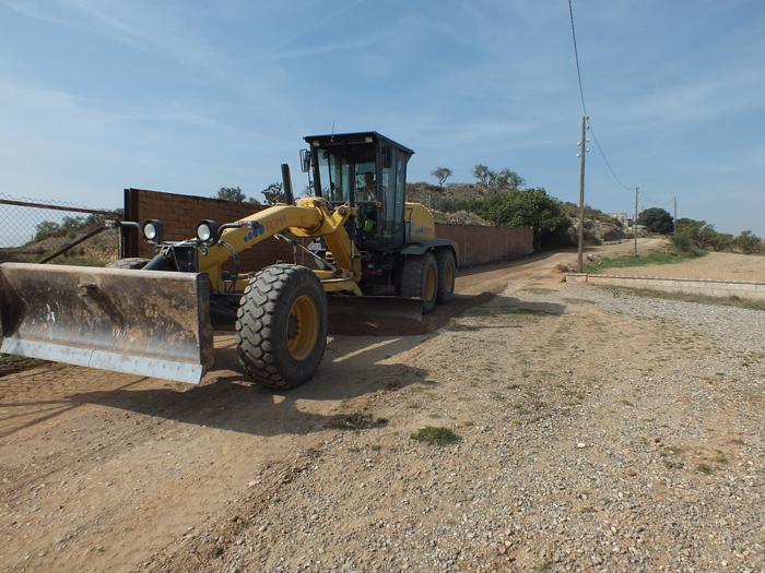 L'Ajuntament de Balaguer arranja dos camins rurals amb àrids reciclats