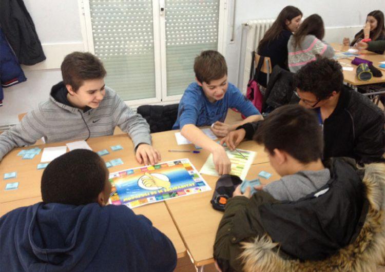 Les escoles de Balaguer descobreixen què és la solidaritat a través de diferents tallers organitzats per Càritas