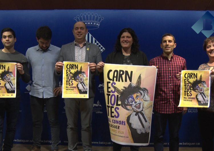 """Balaguer prepara una gran festa pel """"Carnestoltes del Congre"""" dels propers 2 i 3 de març"""