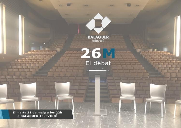 El debat de candidats de Balaguer Televisió, avui a les 22h