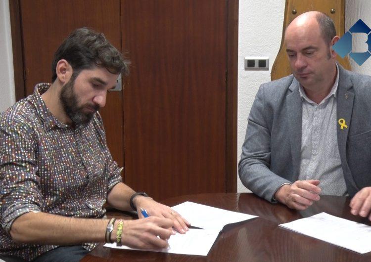 El balaguerí Jesús Bosch signa el contracte d'incorporació de l'empresa Starshot Solutions al CEI