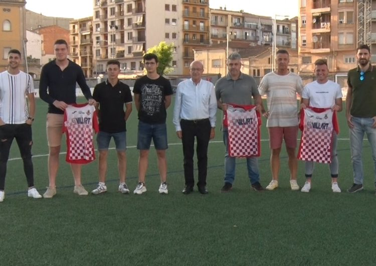 El CF Balaguer presenta Salva Cambray, Xavier Gabernet i tres noves incorporacions