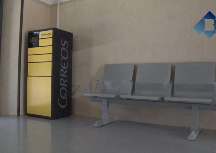 Instal·len a l'estació de trens de Balaguer la primera màquina de recollida de paquets de la línia de La Pobla