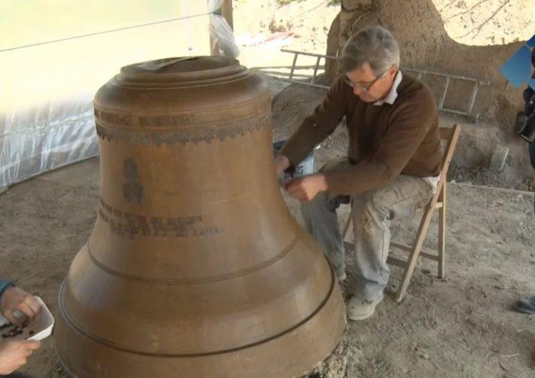 Os de Balaguer escalfa motors per la Trobada de Campaners amb els preparatius per la fosa d'una campana