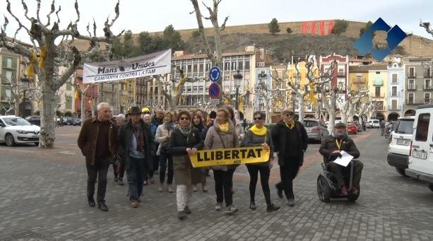 Tercera acció reivindicativa del Col·lectiu Llibertat de Balaguer