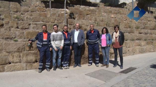 L'Ajuntament de Balaguer presenta els jardiners del pla d'ocupació de 'Treball als barris'