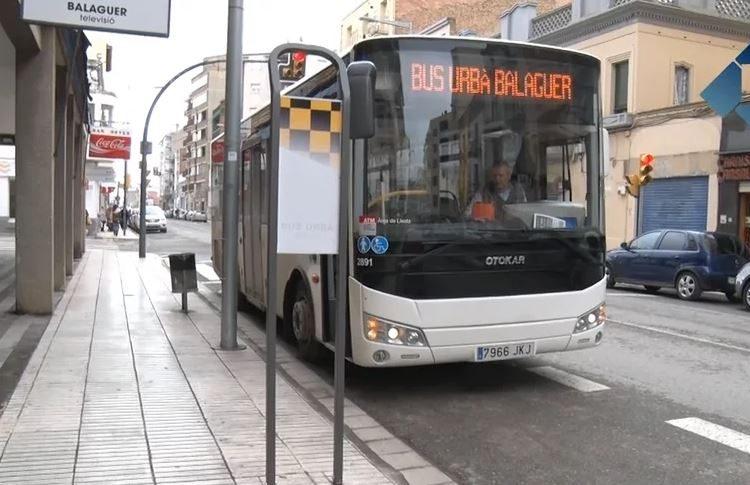 L'Ajuntament de Balaguer mesura el recorregut del bus per establir els horaris definitius