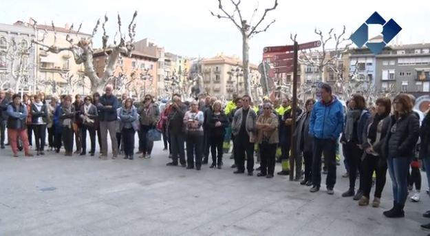 L'Ajuntament de Balaguer s'ha sumat a l'aturada davant dels centres de treball convocada per l'ANC